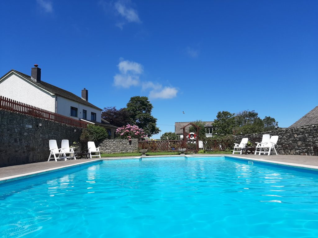 Swimming Pool Trenewydd Holiday Cottages