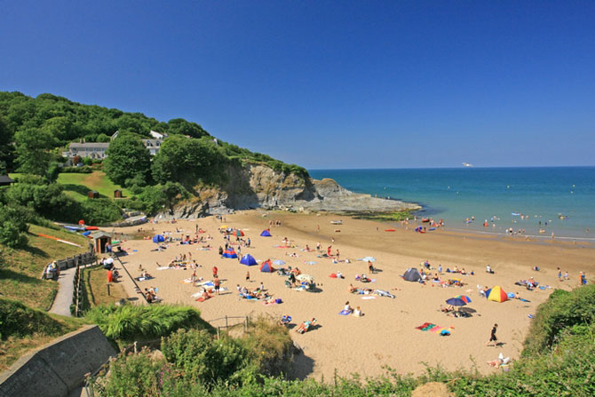 Aberporth Beach Cardigan Bay