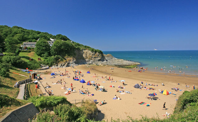 Aberporth beaches
