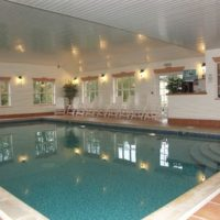 Pool at Brongwyn Holiday Cottages