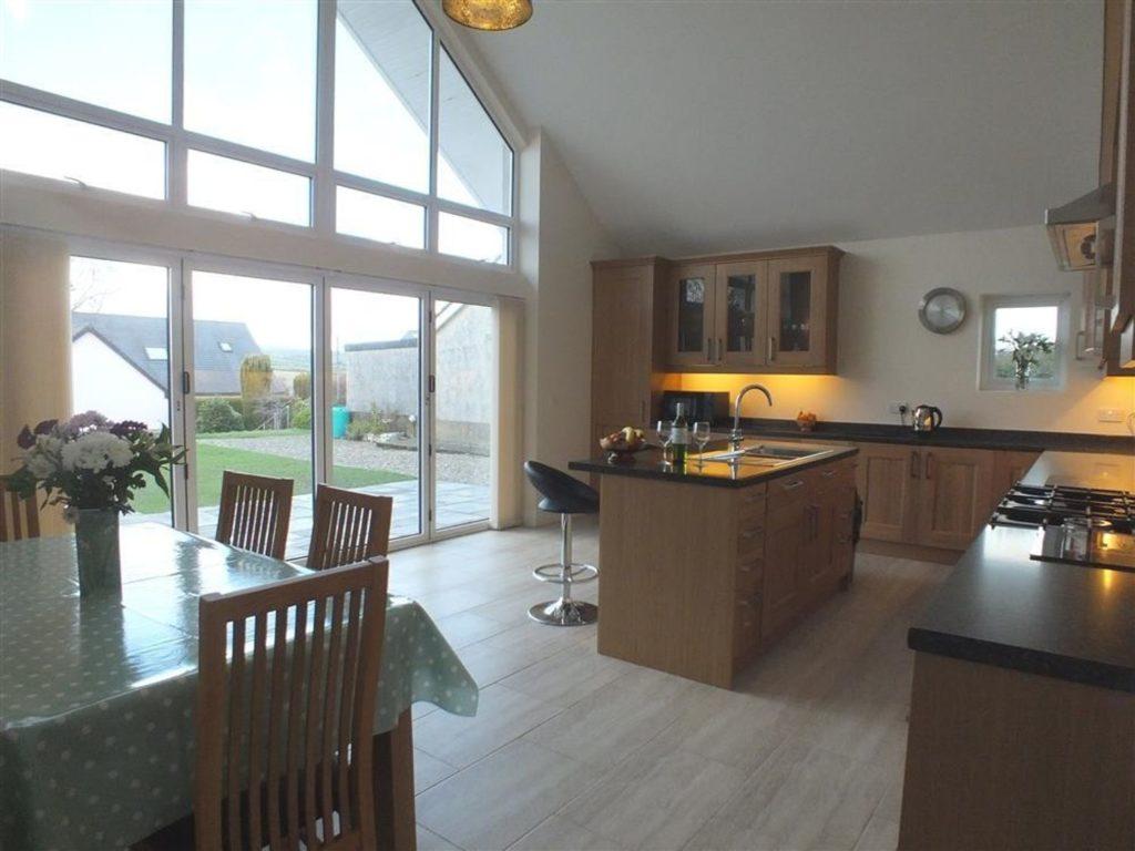 Awel Deg kitchen Newport Pembrokeshire