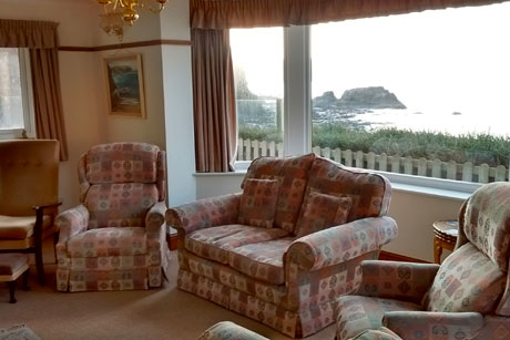 Tresaith. Self catering holiday cottages West Wales The Beach House Carreg Las Tresaith
