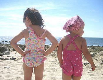 Safe beaches for children