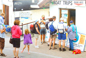 New Quay Boat Trip Ticket Office