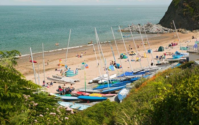 Boats Cardigan Bay ©Visit Wales