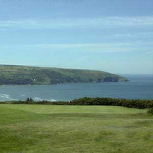 Cwmrhydneuadd Golf Club 9 hole golf course Cardigan Bay Ceredigion