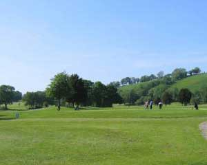 Cilgwyn Golf Club 9 hole golf course Lampeter Ceredigion