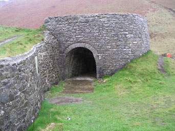 Cwmtydu Lime Kiln