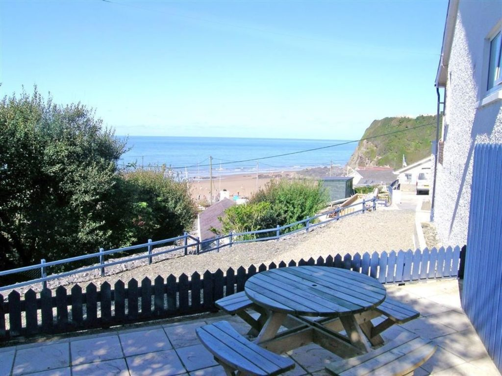 Tresaith Holiday Cottage Delyn Aur Sea View