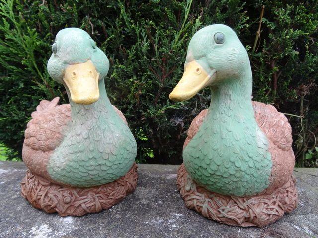duck garden ornaments