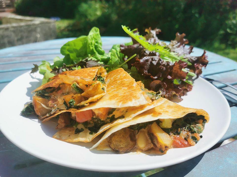 El Salsa Mexican Food Cardigan