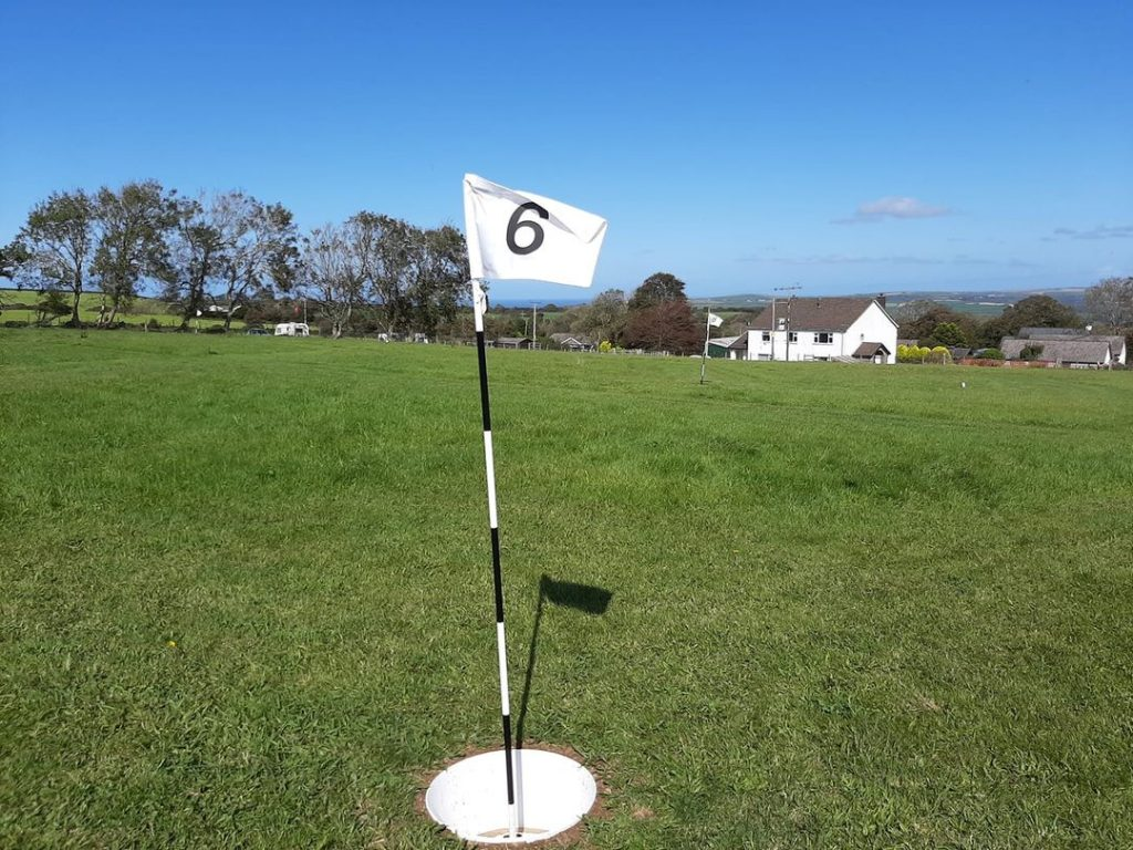 FootGolf at Trenewydd Farm nr St Dogmaels