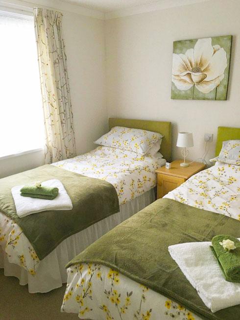 Foxy Lodge Twin Bedroom