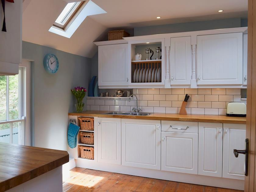 Holiday Cottage Aberporth well equipped spacious kitchen