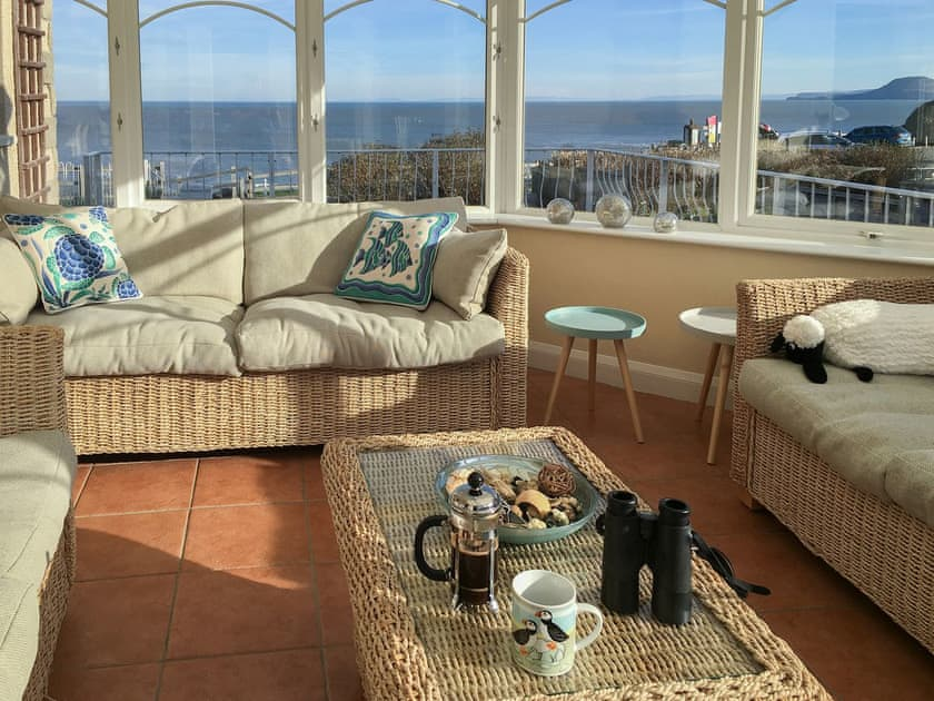 Aberporth. Holiday cottages West Wales Golwg Y Graig Aberporth