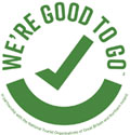 We're Good To Go Wales is the official UK mark to signal that a tourism and hospitality business has worked hard to follow Government and industry COVID-19 guidelines and has a process in place to maintain cleanliness and aid social distancing