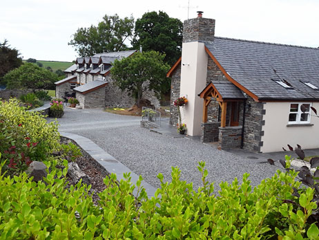 Cardigan. Holiday cottages West Wales Penwern Fach Holiday Cottages Cardigan