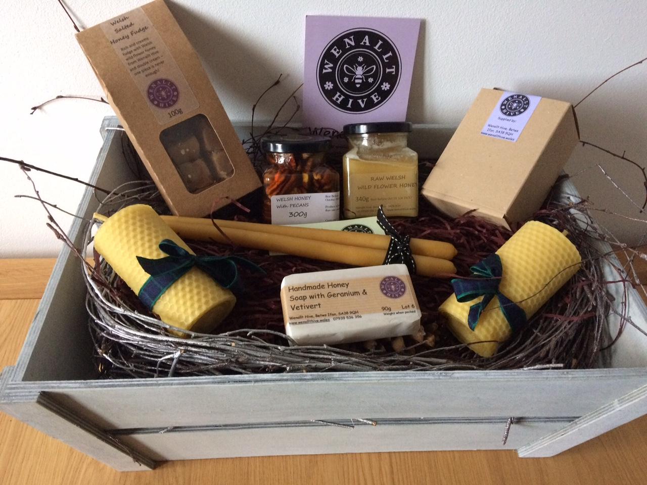 Wenallt Hive Welsh Honey Gift Hamper