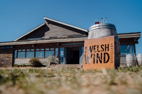 Visit In the Welsh Wind Distillery Cardigan Bay west Wales