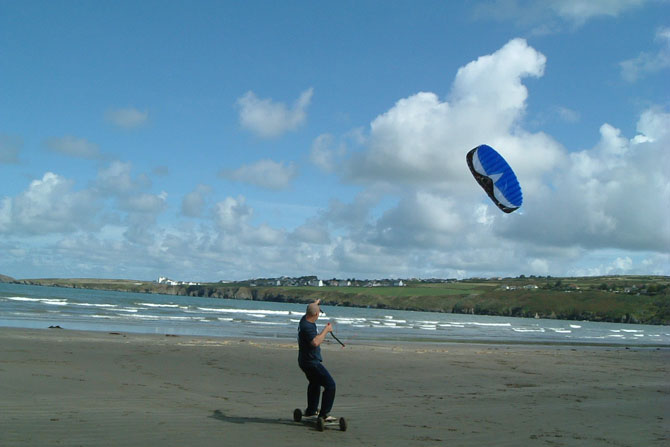 Poppit Sands Beach Cardigan Bay is great for all activites by R Davies<
