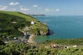 Llangrannog holiday cottages and camping