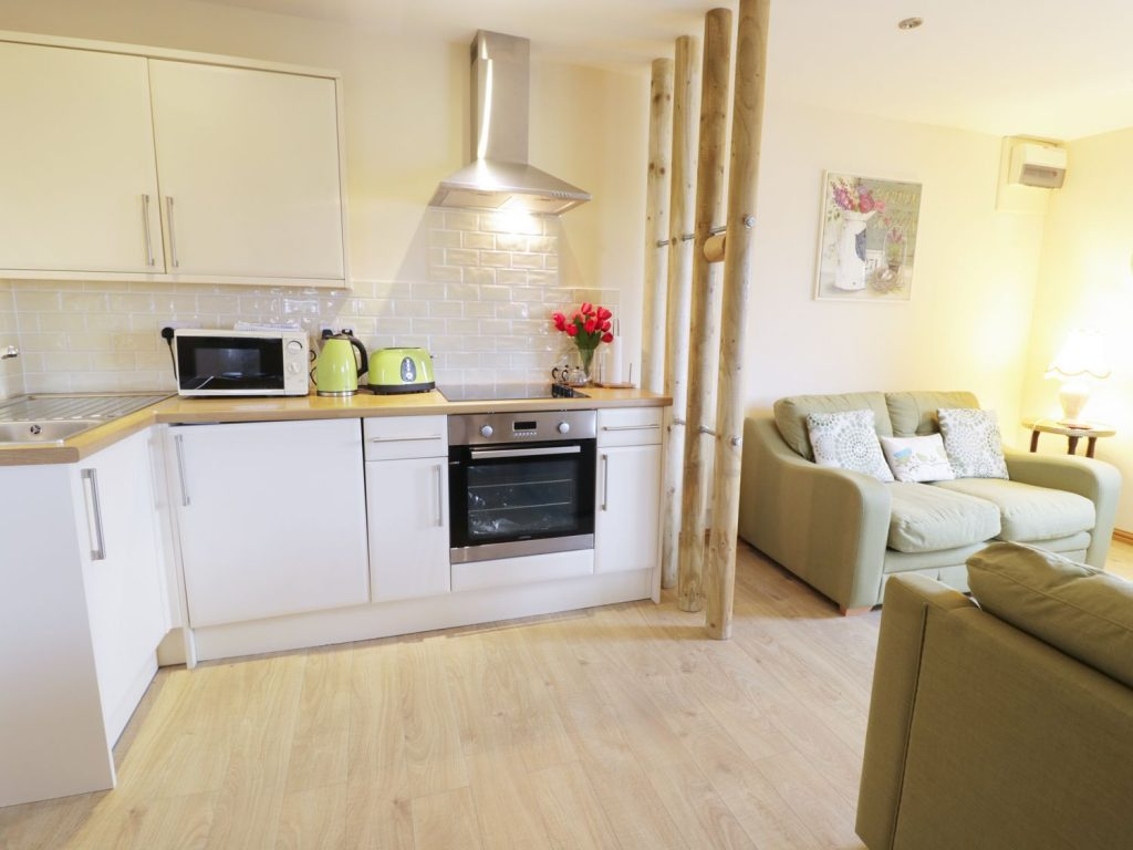 Open plan self catering for two
