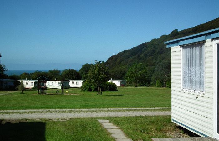 Maesglas Caravan Park west Wales
