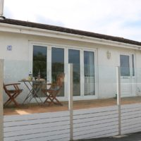 The moorings holiday bungalow St Dogmaels open plan accommodation