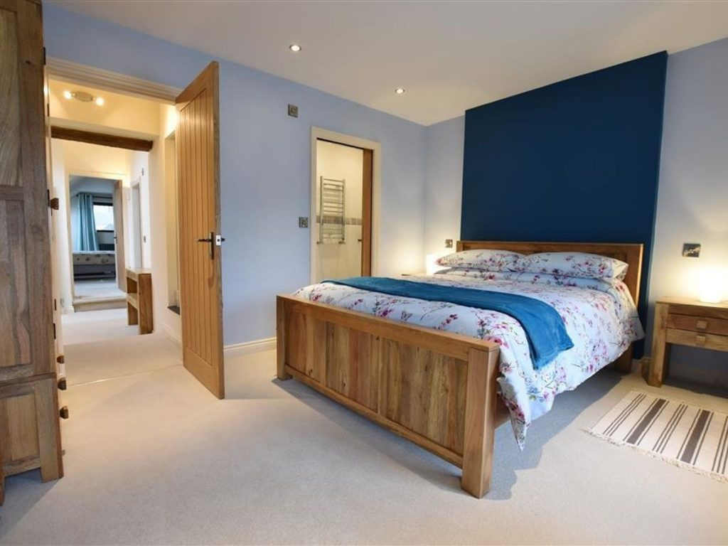 Comfortable bedroom Newport Pembrokeshire