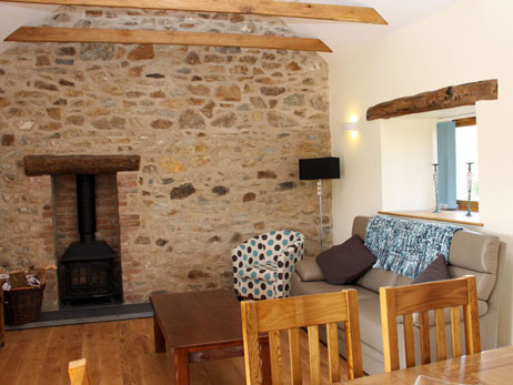Newport. Self catering holiday cottages West Wales Sychpant Barn Newport