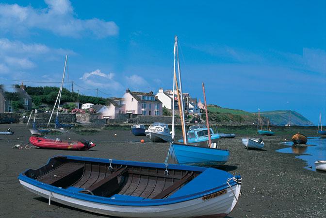 Newport Cardigan Bay West Wales