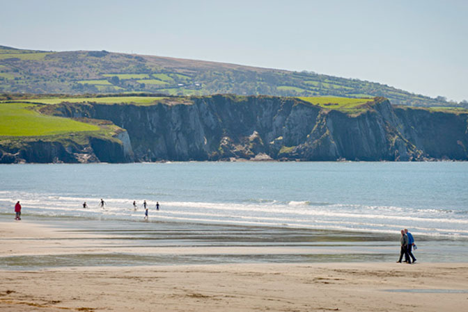 Newport Beach Pembrokeshire Cardigan Bay is great for all activites by R Davies