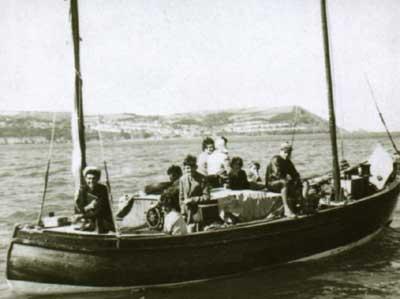 Yns-Enilliin boat Cardigan Bay