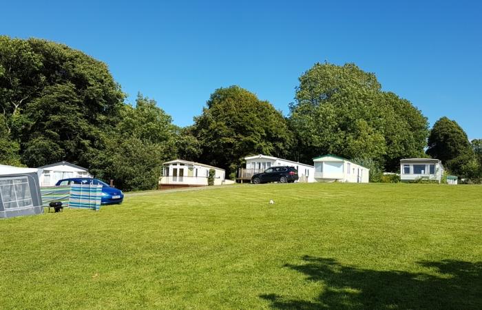 west Wales caravan park