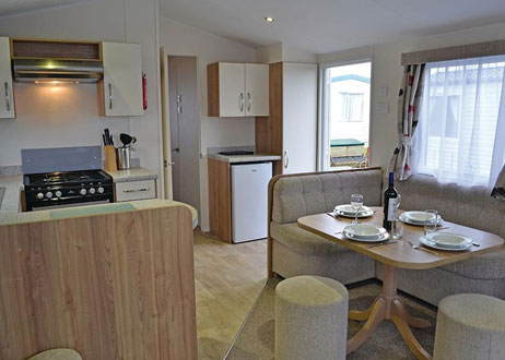 New Quay. Self catering holiday accommodation West Wales Pencnwc Holiday Park New Quay