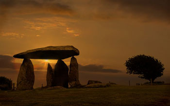 Pentre Ifan Neolithic burial chamber site