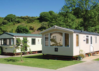 Cardigan. Holiday accommodation West Wales Poppit Sands Holiday Park Cardigan