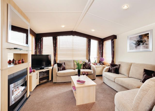 Cardigan. Self catering holiday accommodation West Wales Poppit Sands Holiday Park Cardigan