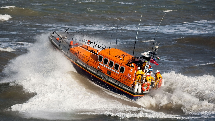RNLI New Quay west Wales - image by Emyr Rhys Williams