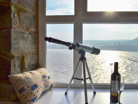 New Quay. Holiday cottages West Wales Sailhouse Loft New Quay