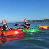Sea kayaking Aberporth