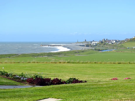 Aberystwyth. Self catering holiday cottages West Wales Plas Tanybwlch Sea View Aberystwyth