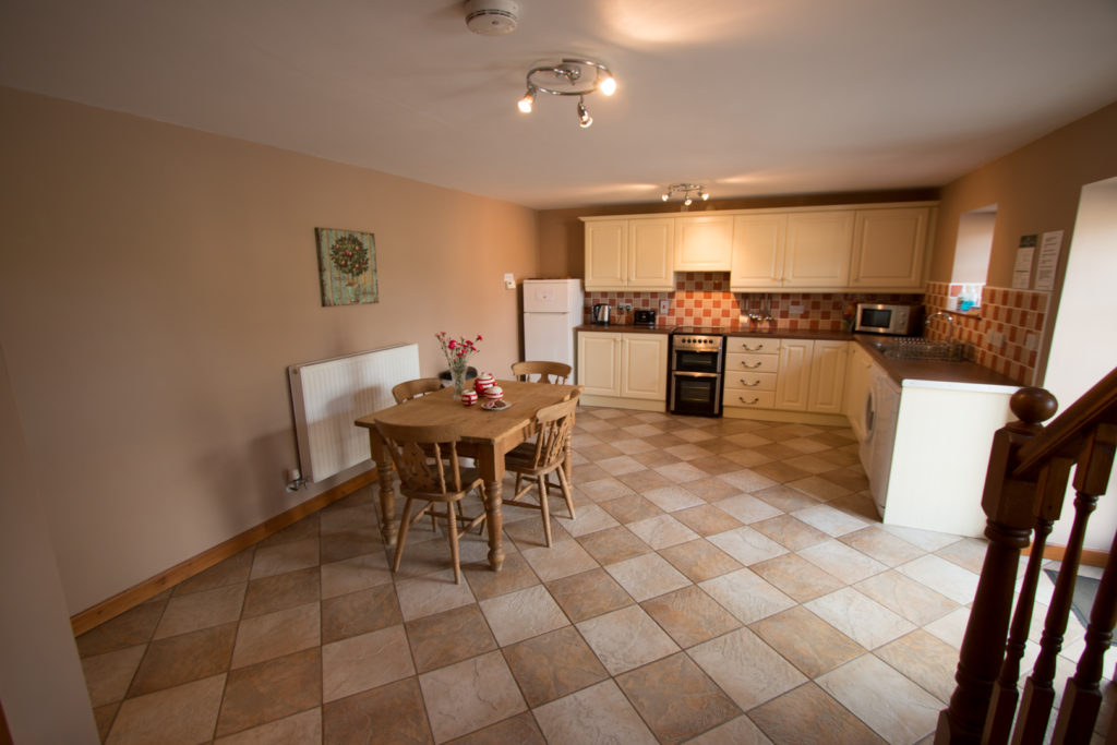 The Stables Holiday Cottage Kitchen