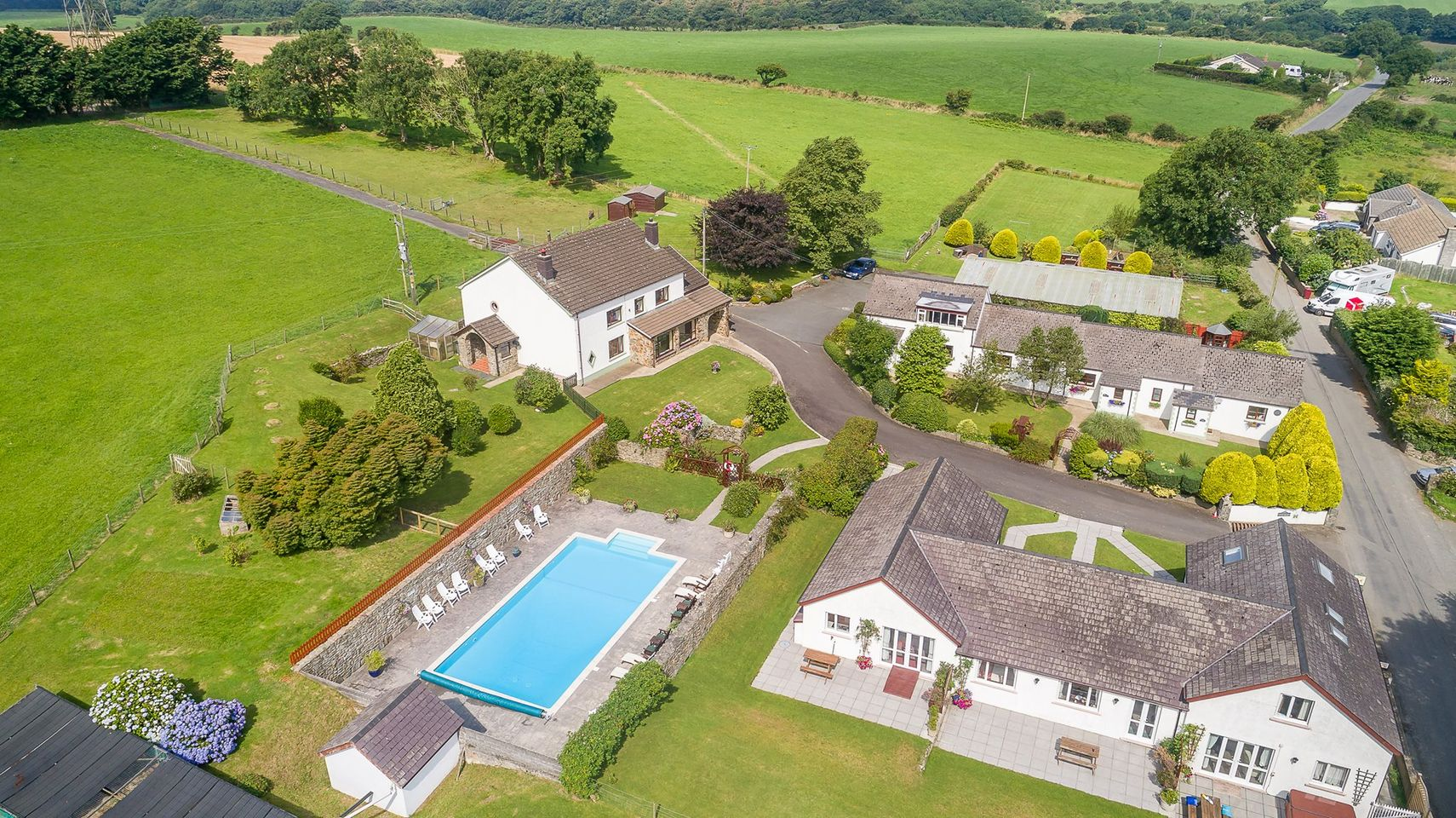 Trenewydd Farm Holiday Cottages