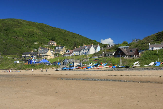 Where to stay Tresaith Cardigan Bay
