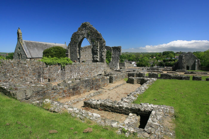 St Dogmaels Abbey by Janet Baxter
