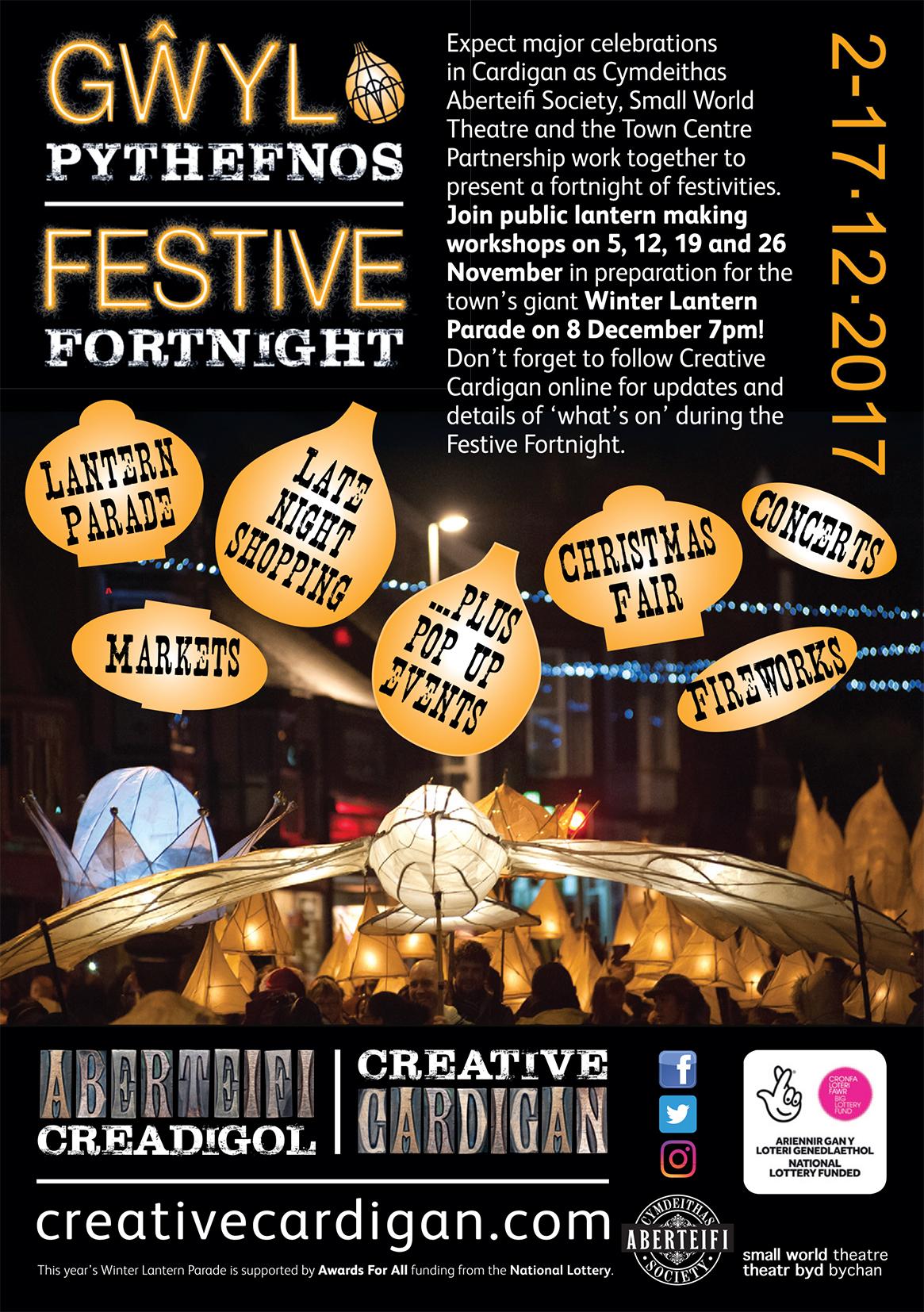 Cardigan Festive Fortnight