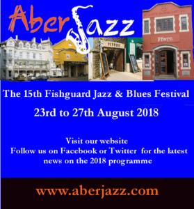 AberJazz Fishguard Jazz and Blues festival 2018
