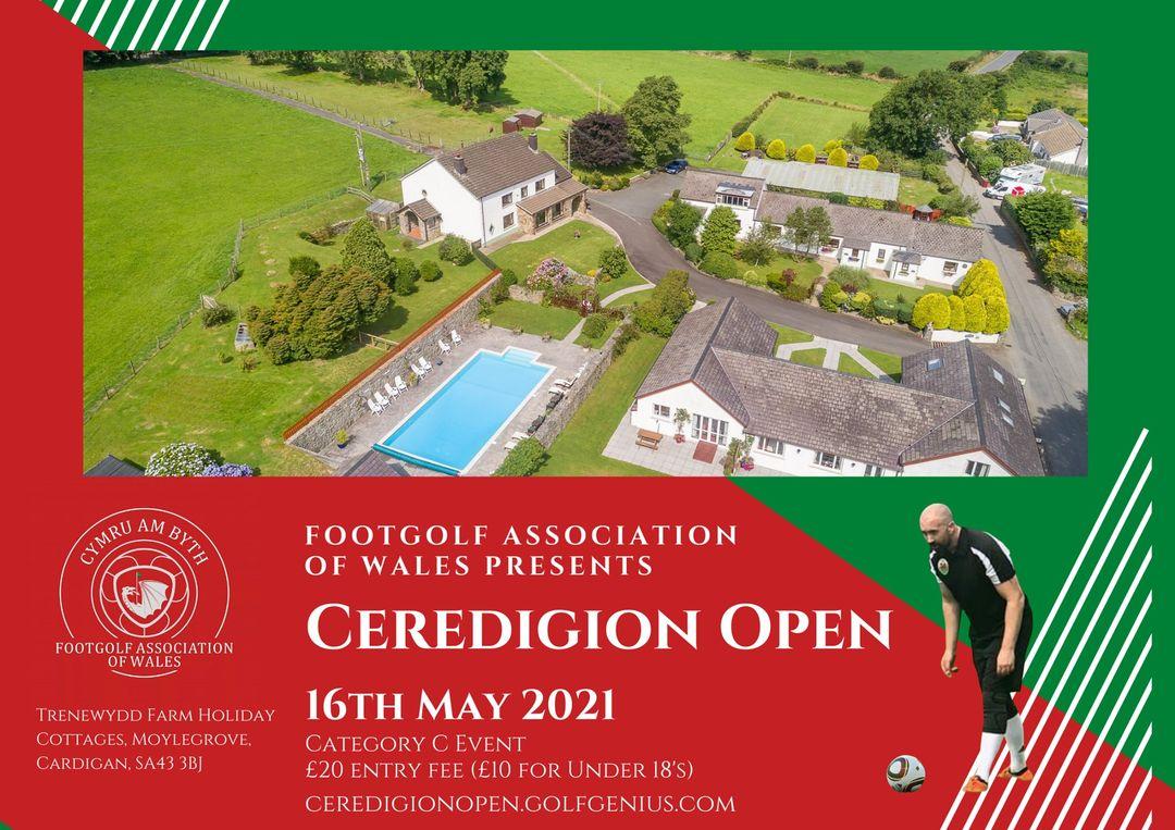 Ceredigion Open FootGolf