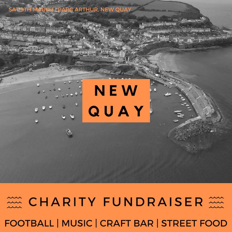 New Quay Charity Fundraiser